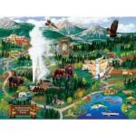 Sunsout-38892 Joseph Burgess - Yellowstone Adventures