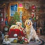 Sunsout-39435 Larry Hersberger - Santa's Little Helpers