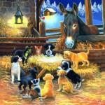 Sunsout-39535 Pièces XXL - Barnyard Nativity