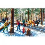 Sunsout-39545 Pièces XXL - Lumber Jacks