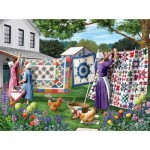 Sunsout-42077 Sharon Steele - Quilts in the Backyard