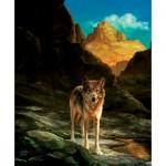 Sunsout-43031 Julie Bell - Lone Wolf