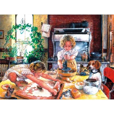 Sunsout-44648 Susan Brabeau - Baking Cookies