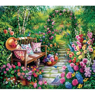Sunsout-45449 Susan Rios - Kim's Garden