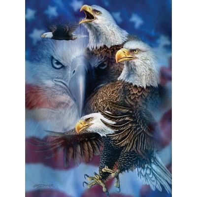 Sunsout-46530 Steven Michael Gardner - Patriotic Eagles