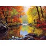 Sunsout-48535 Charles White - Autumn Sanctuary