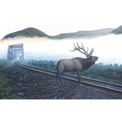 Sunsout-48856 Dan Christ - Elk Tracks