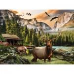 Sunsout-49004 Nigel Hemming - Elk Country