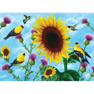 Sunsout-49038 Jerry Gadamus - Sunflowers and Songbirds