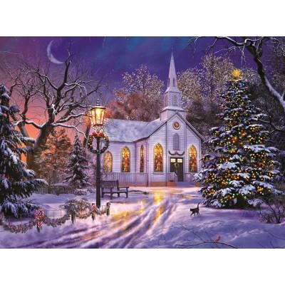 Sunsout-50041 Dominic Davison - The Old Christmas Church