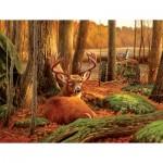Sunsout-50133 Where Sleeping Deer Lie