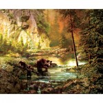 Sunsout-51050 Roberta Wesley - Bearly Daylight