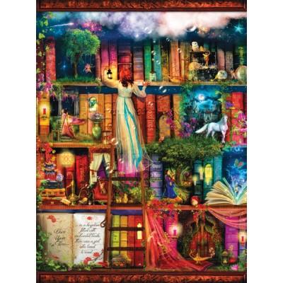 Sunsout-51067 Aimee Stewart - Treasure Hunt Bookshelf