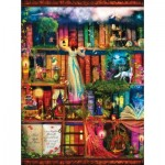 Sunsout-51067 Aimee Stewart - Treasure Hunt Bookshelf