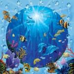 Sunsout-52345 Pièces XXL - Dolphin Castle