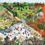 Sunsout-52421 Pièces XXL - Four Seasons Garden