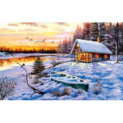 Sunsout-52766 The Macneil Studio - Log Cabin