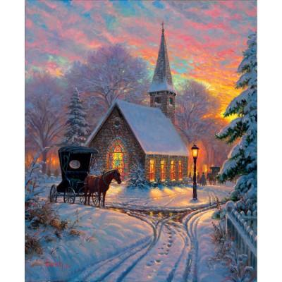 Sunsout-52909 Mark Keathley - Carriage Chapel