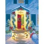 Sunsout-55942 Corbert Gauthier - Christmas Porch