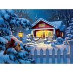 Sunsout-55989 Corbert Gauthier - Christmas Bungalow