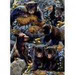 Sunsout-56452 Karen and Rebecca Latham - Bear Cubs