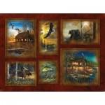 Sunsout-58678 Jim Hansel - Scenic Lodge