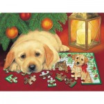 Sunsout-59406 Pièces XXL - A Puzzle for Christmas