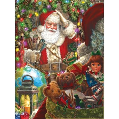 Sunsout-59714 Liz Goodrick Dillon - Ready to Go Santa