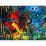 Sunsout-59775 Liz Goodrick Dillon - Fire Dragon of Emerald