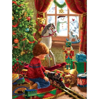 Sunsout-59801 Pièces XXL - Boyhood Christmas