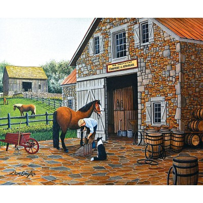 Sunsout-60319 Don Engler - Coppery and Stables