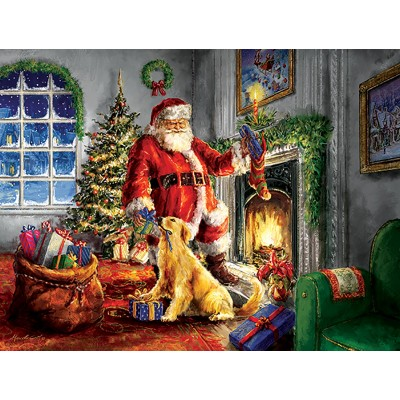 Sunsout-60620 Pièces XXL - Helping Santa