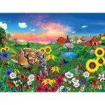 Sunsout-60940 Pièces XXL - Gerald Newton - Peaceful Pastures
