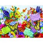 Sunsout-62908 Pièces XXL - Butterfly Oasis