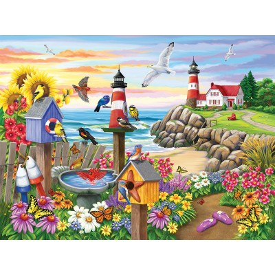 Sunsout-62930 Nancy Wernersbach - Garden by the Sea