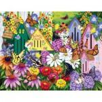 Sunsout-63004 Nancy Wernerbach - Butterfly Neighbors