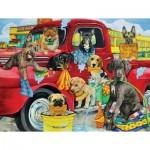 Sunsout-63058 Pièces XXL - Puppy Car Wash