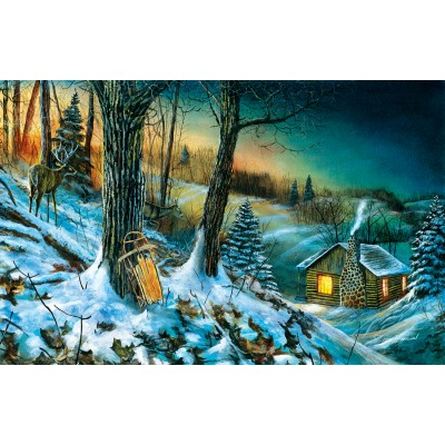 Sunsout-67328 Jim Hansel - Frozen Memories