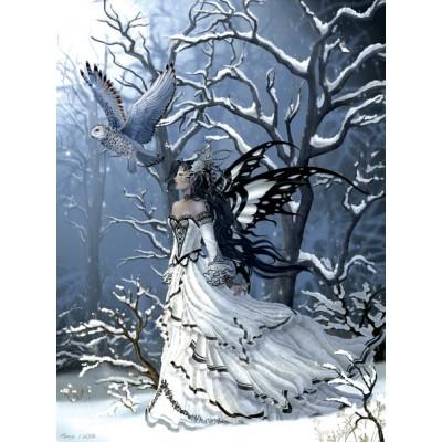 Sunsout-67623 Nene Thomas - Queen of Owls