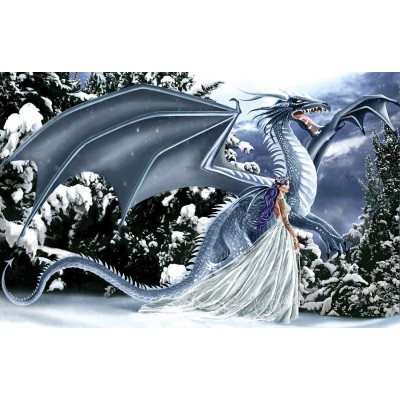 Sunsout-67696 Nene Thomas - Ice Dragon
