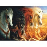 Sunsout-68420 Lindsburg-Osorio - Four Horses of the Apocalypse