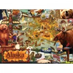 Sunsout-70016 Ward Thacker Studio - Alaska, The Final Frontier