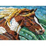 Sunsout-70701 Cynthie Fisher - Stained Glass Horse