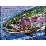 Sunsout-70711 Cynthie Fisher - Stained Glass Rainbow Trout