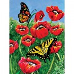 Sunsout-71455 Charlsie Kelly - Monarch and Swallowtails