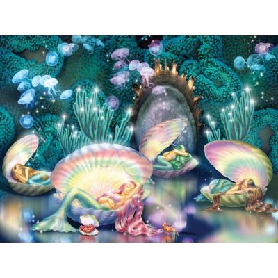 Sunsout-75024 Zorina Baldescu - Sleeping Mermaids