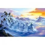 Sunsout-75559 Jim Warren - After the Snow Storm