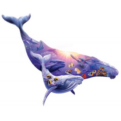 Sunsout-90348 Pièces XXL - Steve Sundram - Humpback Whale