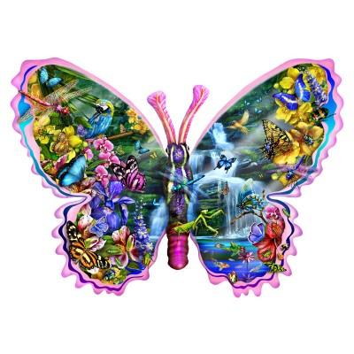 Sunsout-95234 Lori Schory - Butterfly Waterfall