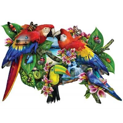 Sunsout-95278 Lori Schory - Parrots in Paradise
